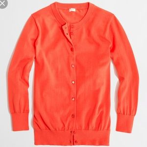 Jcrew Clare cardigan red large